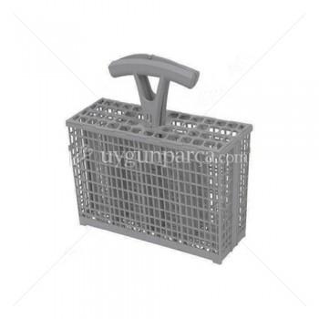Bulaşık Makinesi Gri Çatal Kaşık Sepeti - 1523331104