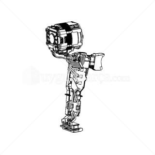 Şarjlı matkap Motor ve Tetik Anahtarı - N493868