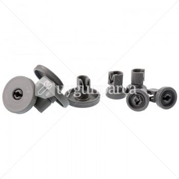 Bulaşık Makinesi Alt & Üst Sepet Tekerlek Seti 8'li - 31394