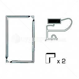 Universal Buzdolabı Kapak Contası 70x130cm