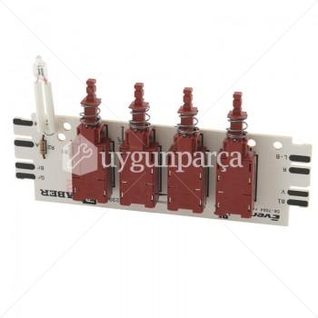 Ankastre Davlumbaz Elektronik Kartı - 00657642