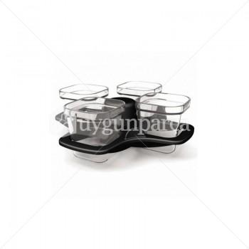 Actifry 4'lü Cam Pişirme Kabı - XA702070